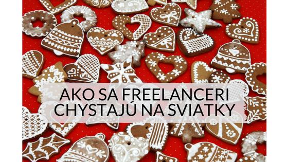 Ako sa freelanceri chystajú na sviatky